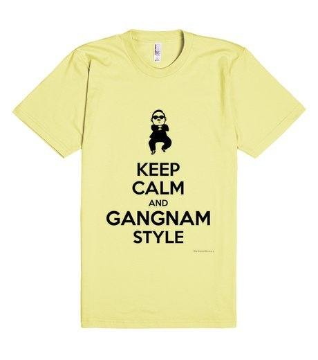 keep calm gangnam