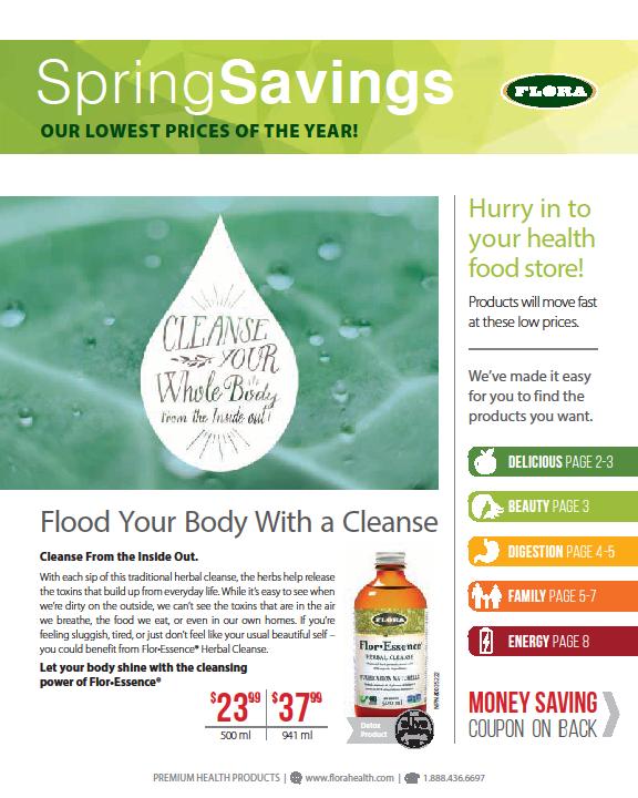 Flora Spring Flyer Sale Page 1