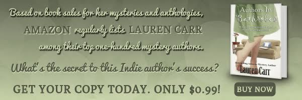 Authors in Bathrobes by Lauren Carr